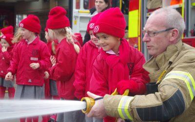 Year 1 Trip to Twickenham Fire Station