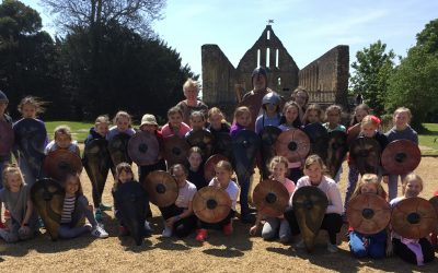 Year 5 at Battle Abbey